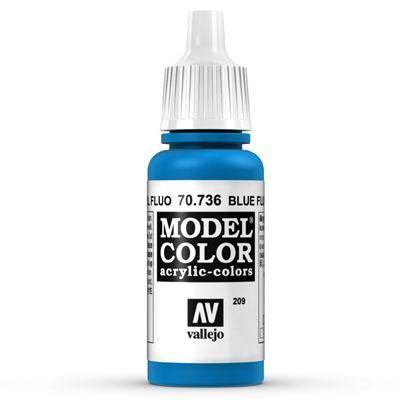 70.736 Blue Fluo, Vallejo