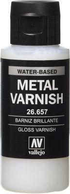 26.657 Gloss Metal Varnish, Vallejo