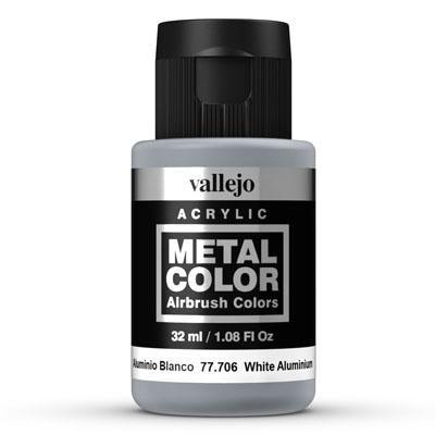 77.706 White Aluminium, Vallejo
