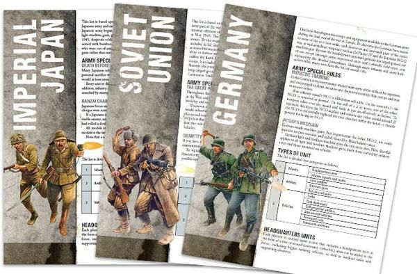 Rulebook Bolt Action 2. Edition