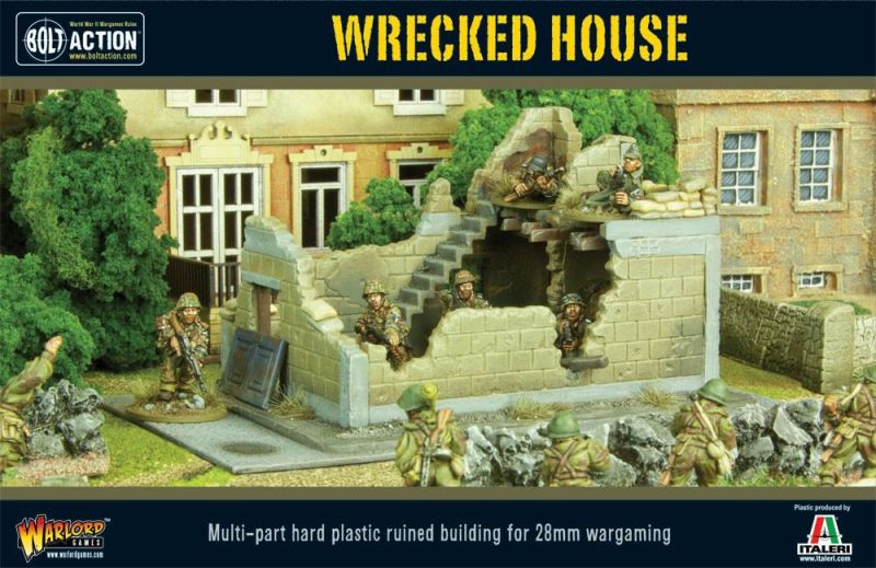Wrecked House, Bolt Action WW2