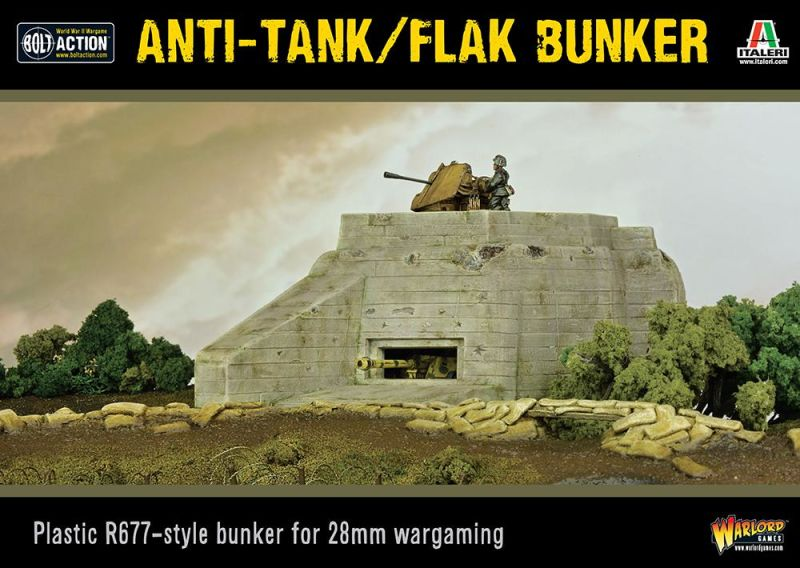Flak Bunker, Bolt Action WW2