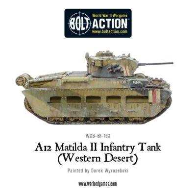 A12 Matilda II (Western Desert)