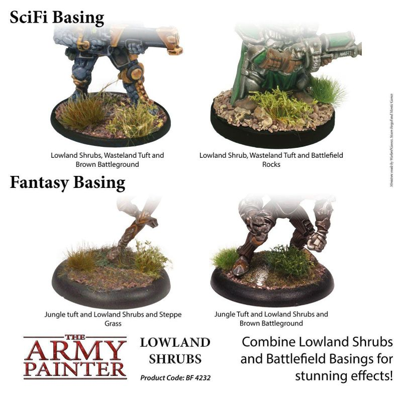 Battlefields: Lowland Shrubs