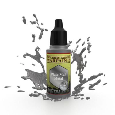 Plate Mail Metal, The Army Painter Warpaints, Warpaint,...