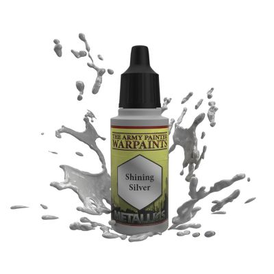 Shining Silver, The Army Painter Warpaints, Warpaint,...
