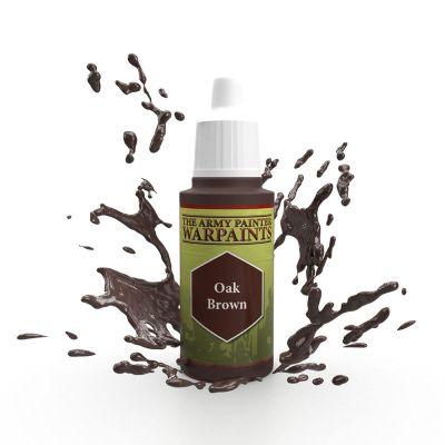 Oak Brown, The Army Painter Warpaints, Warpaint, Acrylfarbe