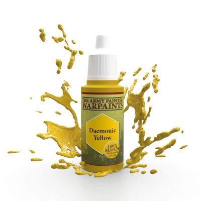 Daemonic Yellow, The Army Painter Warpaints, Warpaint,...