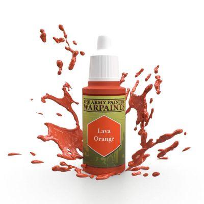 Lava Orange, The Army Painter Warpaints, Warpaint,...