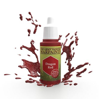 Dragon Red, The Army Painter Warpaints, Warpaint, Acrylfarbe