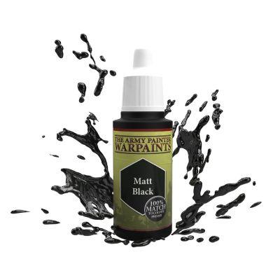 Matt Black, The Army Painter Warpaints, Warpaint, Acrylfarbe