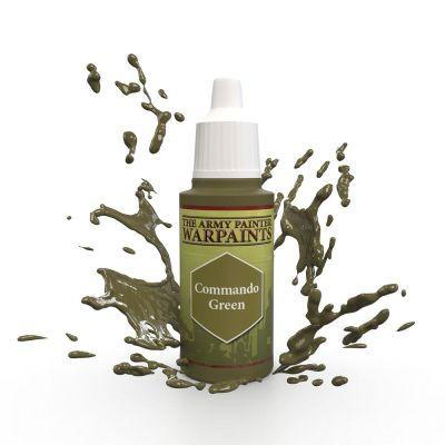 Commando Green, The Army Painter Warpaints, Warpaint,...