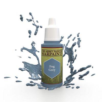 Fog Grey, The Army Painter Warpaints, Warpaint, Acrylfarbe