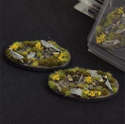 Highland Base, oval 90 mm, Gamers Grass