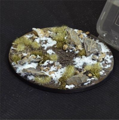 Winter Base, oval 120 mm, Gamers Grass