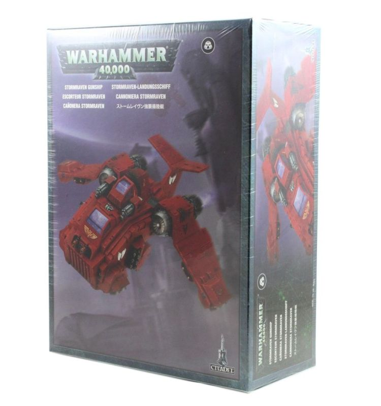 Stormraven-Landungsschiff, Space Marines, Warhammer 40k, Games Workshop