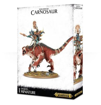 Saurus Oldblood/Scar Veteran auf Carnosaur/Troglodon
