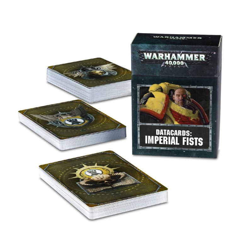 Datacards: Imperial Fists