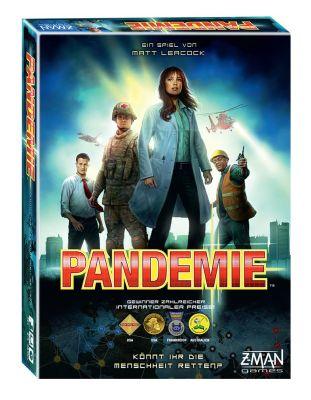 Pandemic Grundspiel deutsch cover front verpackung...