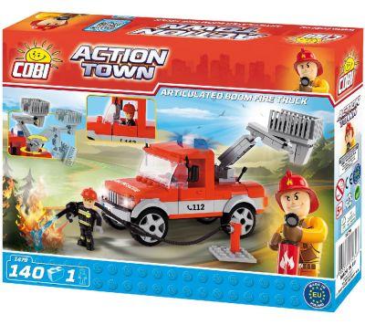 COBI-1479 Articulated Boom Fire Truck
