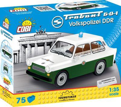 COBI-24520 Trabant 601 Volkspolizei DDR