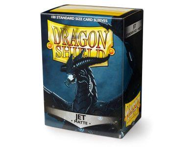 Dragon Shield Standard Sleeves - Matte Jet